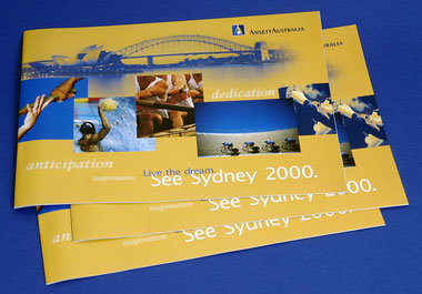 """SEE SYDNEY 2000"" OLYMPIC BROCHURE"